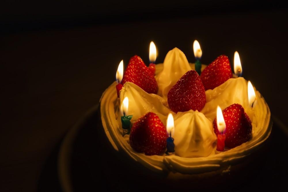 生日驚喜生日蛋糕