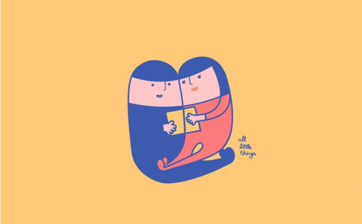 6. 擁抱著閱讀