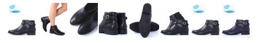 RANDA防水低跟短靴