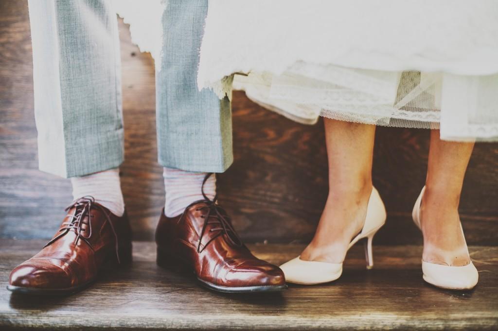 認識新朋友的話題:鞋子
